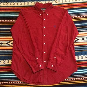 EUC XL Ralph Lauren button down
